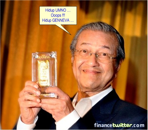 Mahathir Genneva Gold Wafer