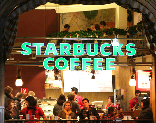 Markup Products - Starbucks Coffee