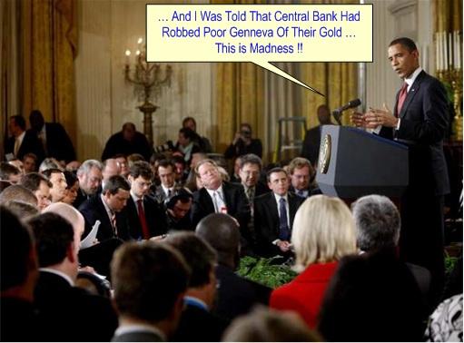 Genneva Gold - Obama News Conference
