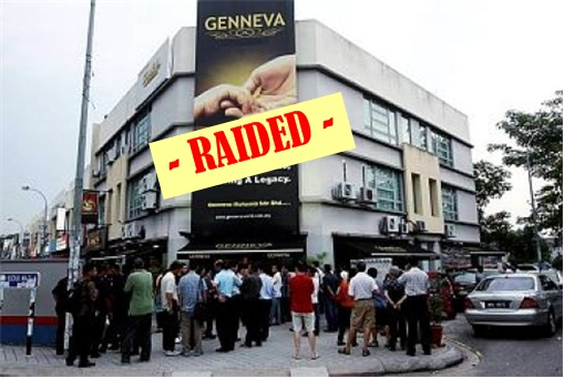 Genneva Gold Raided