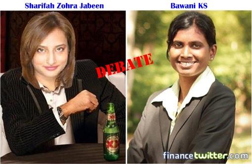 Sharifah Zohra Jabeen - Bawani KS - Debate
