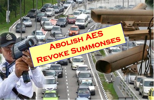 PR Manifesto - Abolish AES Revoke Summonses