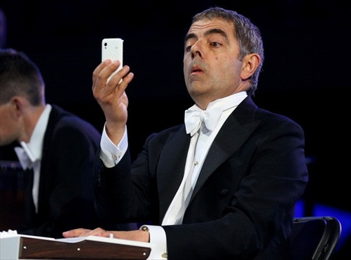 Apple Fans Love Mr Bean