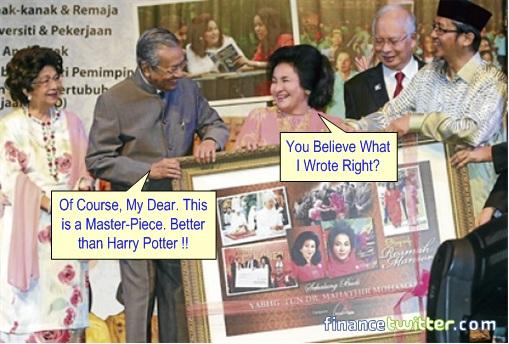 Mahathir Launches Rosmah Biography