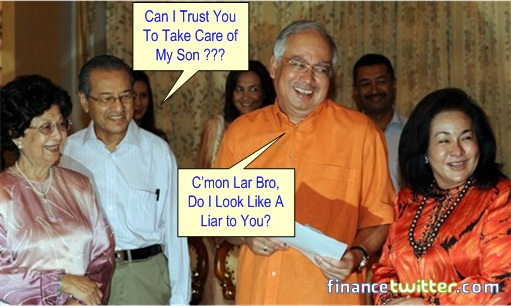Mahathir Najib Agreement