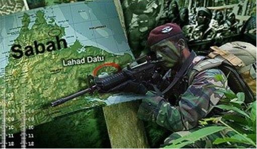 Sabah Invasion - Malaysian Army 2