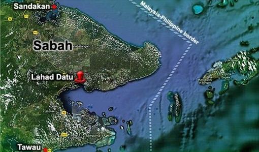 Sabah Invasion - Map Lahat Datu