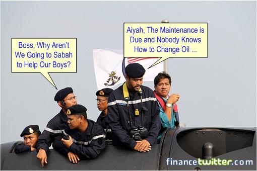 Sabah Invasion - Najib Scorpene Submarine