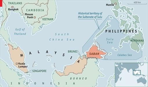 Sabah Invasion - Sulu Territory