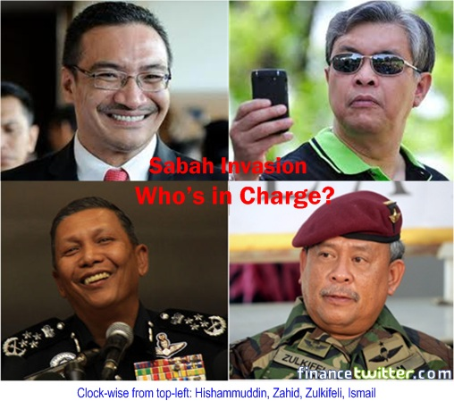 Sabah Invasion - Who in Charge