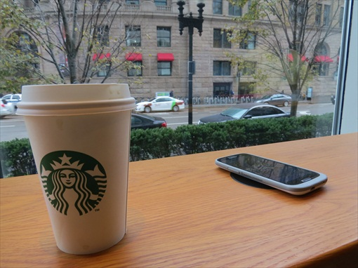 Samsung Fans Love Starbucks