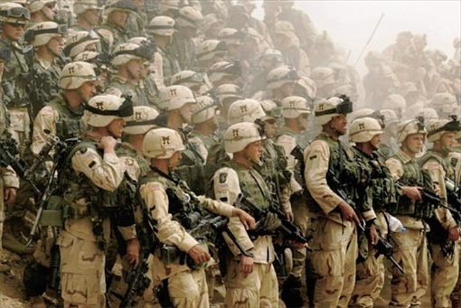 US Invasion into Iraq
