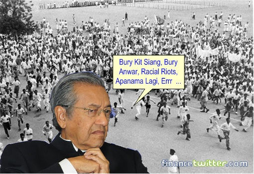 13 General Election - Mahathir 13 May 1969