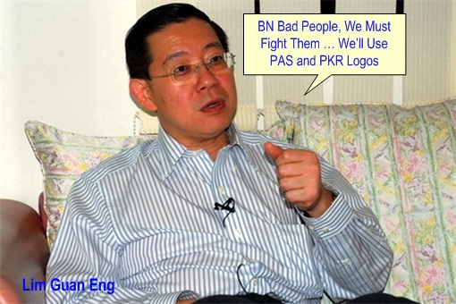 13 General Election - ROS vs DAP - Lim Guan Eng