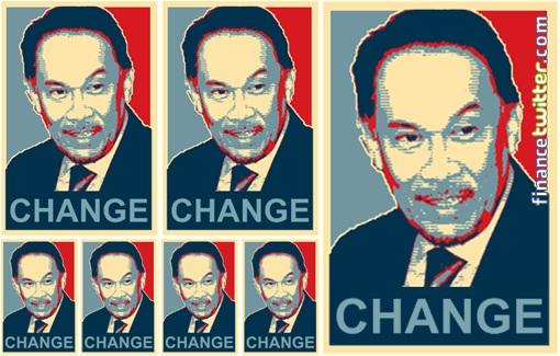 Anwar Ibrahim Change Obama