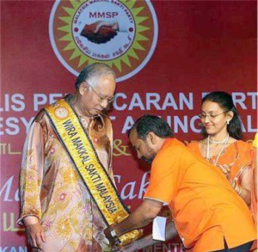 Hindraf Makkal Sakti Joing BN Najib
