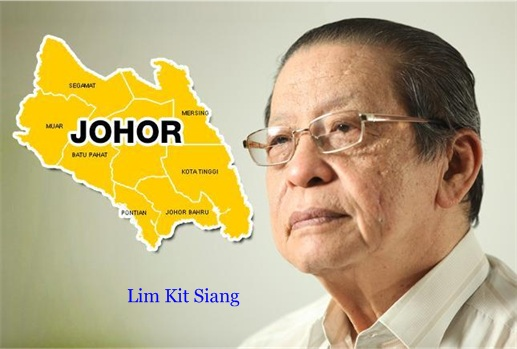 Malaysia 13 General Election - Gelang Patah Lim Kit Siang