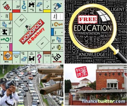 Manifesto - PR vs BN - AES, Monopoly, UEC, PTPTN