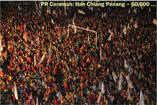 Pakatan Rakyat - Penang 60000 crowds