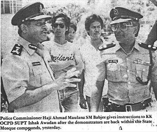 Sabah 1985 Riot - Photo 6