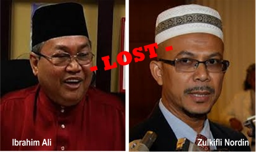 13 General Election - Ibrahim Ali and Zulkifli Nordin Lost