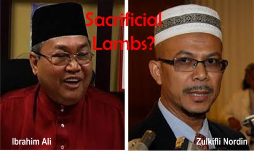 13 General Election - Ibrahim Ali and Zulkifli Nordin Sacrificial Lambs