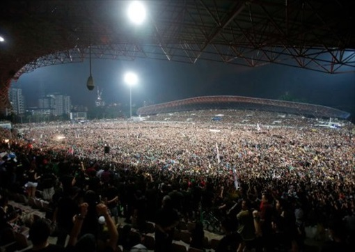 Kelana Jaya Stadium Rally