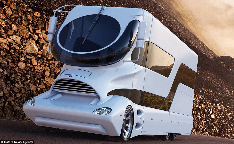 USD3 Million Expensive Mobile Motor Home