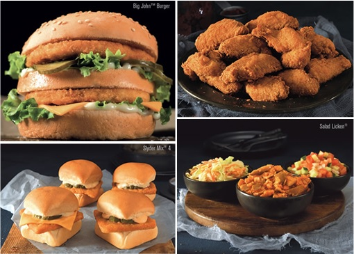Chicken Licken - South Africa Fast Food Dishes