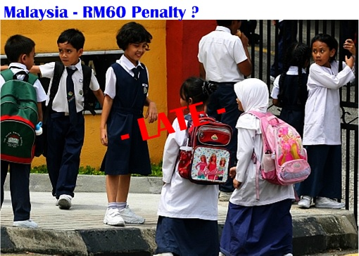 Malaysia Student Late Penalty
