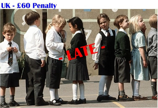 UK Student Late Penalty