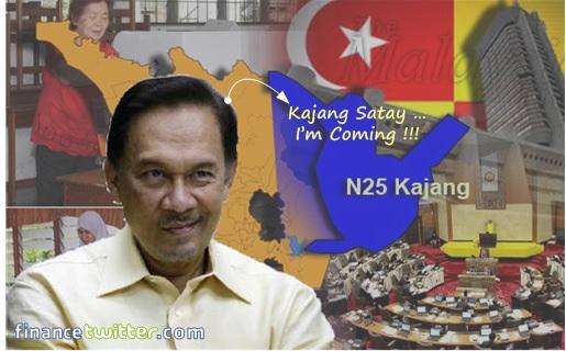 Kajang by-election - Anwar Kajang Satay
