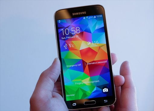Samsung Galaxy S5 - Fingerprint Sensor