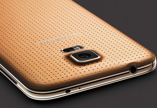 Samsung Galaxy S5 - Gold Edition