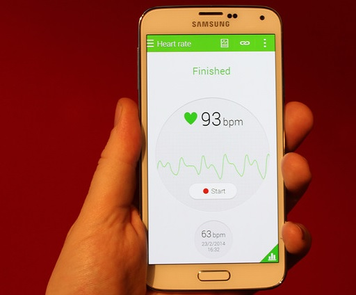 Samsung Galaxy S5 - Heart-rate Sensor 2