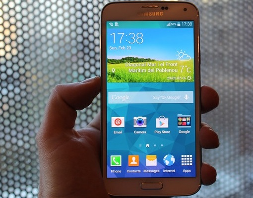 Samsung Galaxy S5 - KitKat