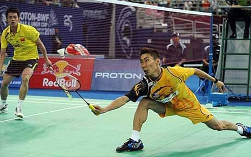 Badminton Lee Chong Wei