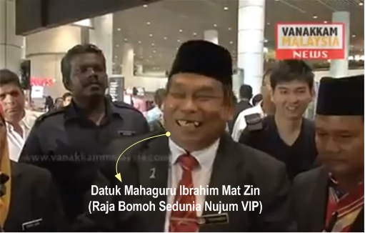 Malaysia MH370 Missing - Bomoh Shaman 1