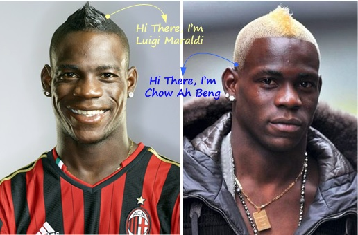 Malaysia MH370 Missing - Mario Balotelli Look Alike
