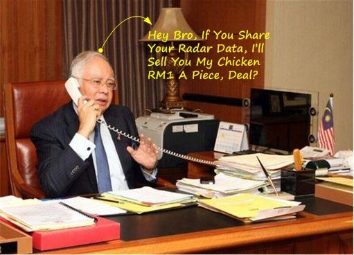 Malaysia MH370 Missing - Najib Asking for Foreign Radar Data