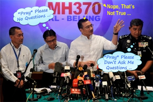 Malaysia MH370 Missing - Pray for No Questions