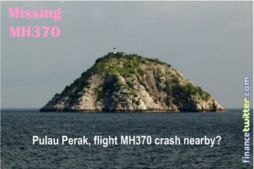 Malaysia MH370 Missing - Pulau Perak