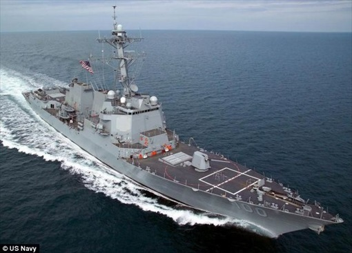 Malaysia MH370 Missing - USS Destroyer Kidd