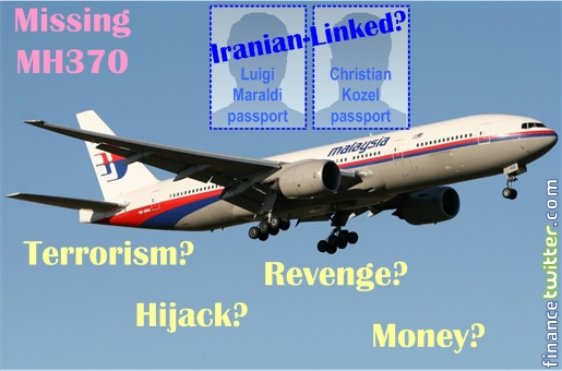 Malaysia MH370 Missing - Who Are the Terrorists On Board