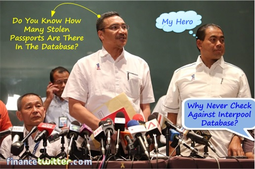 Malaysia MH370 Missing - Why Never Check Interpool Database