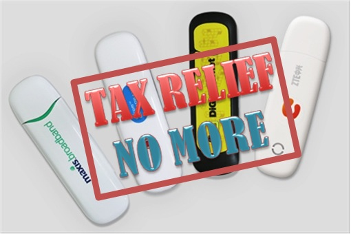 Tax Relief-Broadband No More