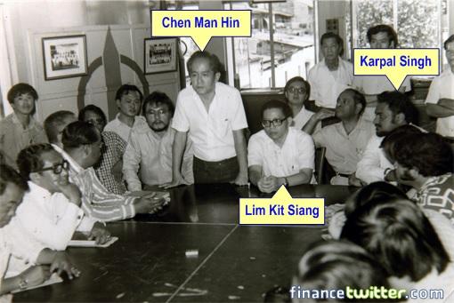 Karpal Singh Dies - Chen Man Hin - Lim Kit Siang