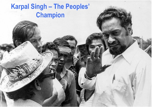 Karpal Singh Dies - The Peoples Champion