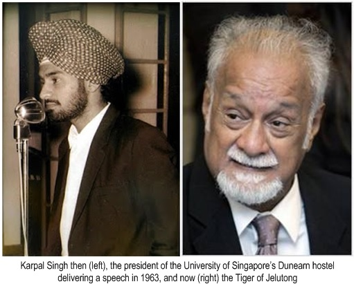 Karpal Singh Dies - Young at 1963 and Tiger of Jelutong