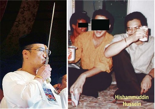 Missing MH370 - Hishammuddin Hussein Drink Alcohol